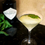 Variation on a Gimlet with Mint & Basil