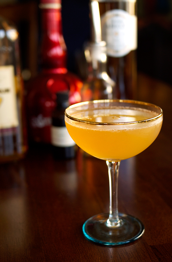 The Golden Hour Cocktail // stirandstrain.com