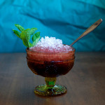 Spiced Cherry Cobbler Cocktail