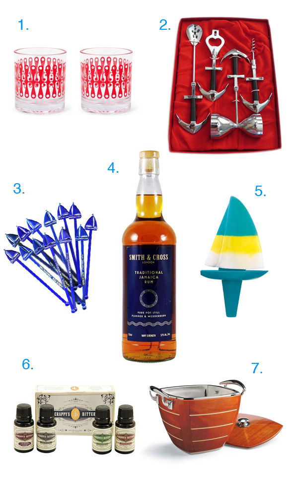 Nautical Cocktail Gift Guide // stirandstrain.com