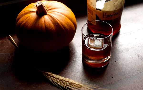 Spiced Pumpkin Bourbon // stirandstrain.com