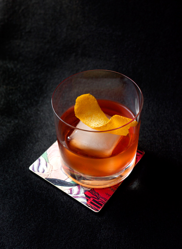 Auld Draper Cocktail // stirandstrain.com