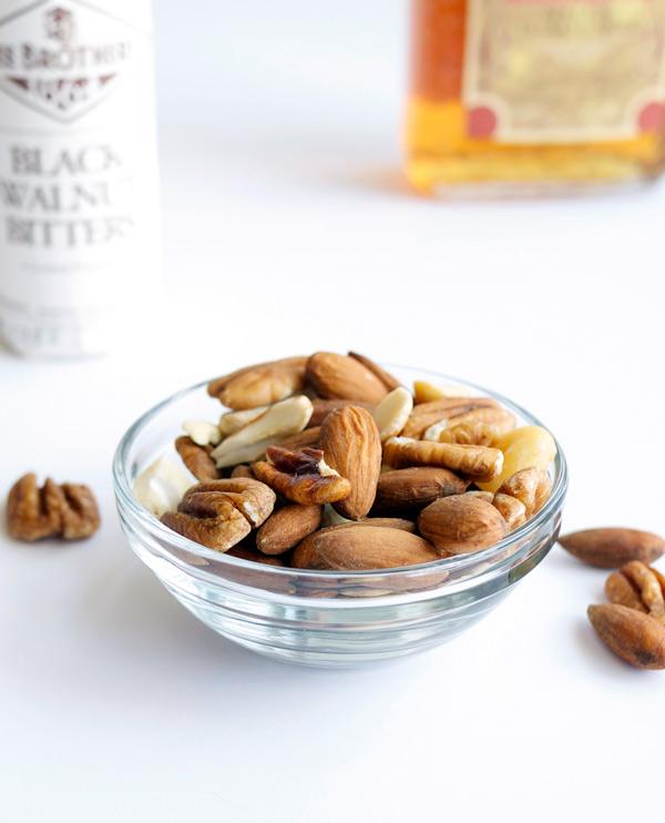 Aw, Nuts! Mixology Monday challenge // stirandstrain.com
