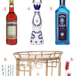 Patriotic Bar Cart Gift Guide