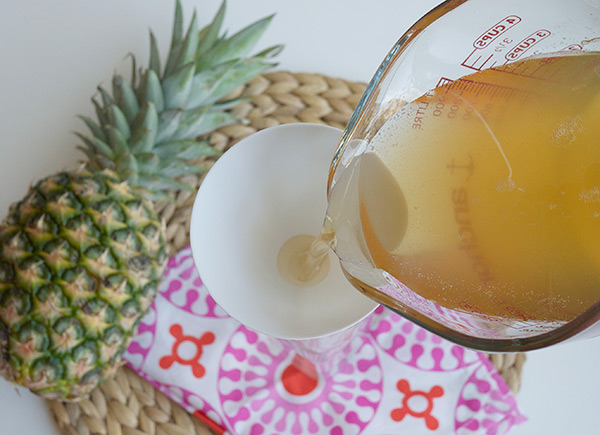 Pineapple Gomme Syrup & Pisco Punch // stirandstrain.com