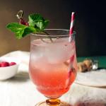 Raspberry Amaro Spritz