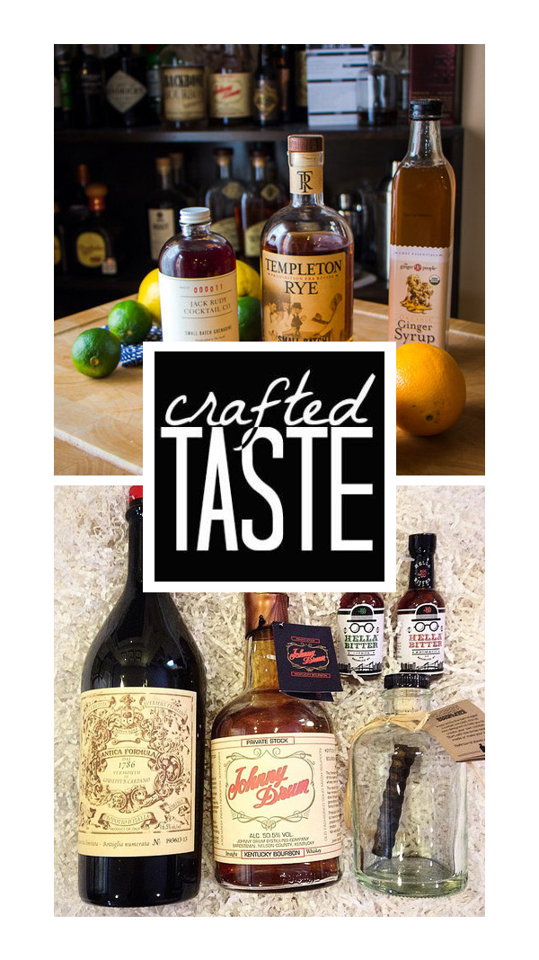 Giveaway: Win a Crafted Taste Curated Cocktail Kit and 50% Off for the holidays  // stirandstrain.com