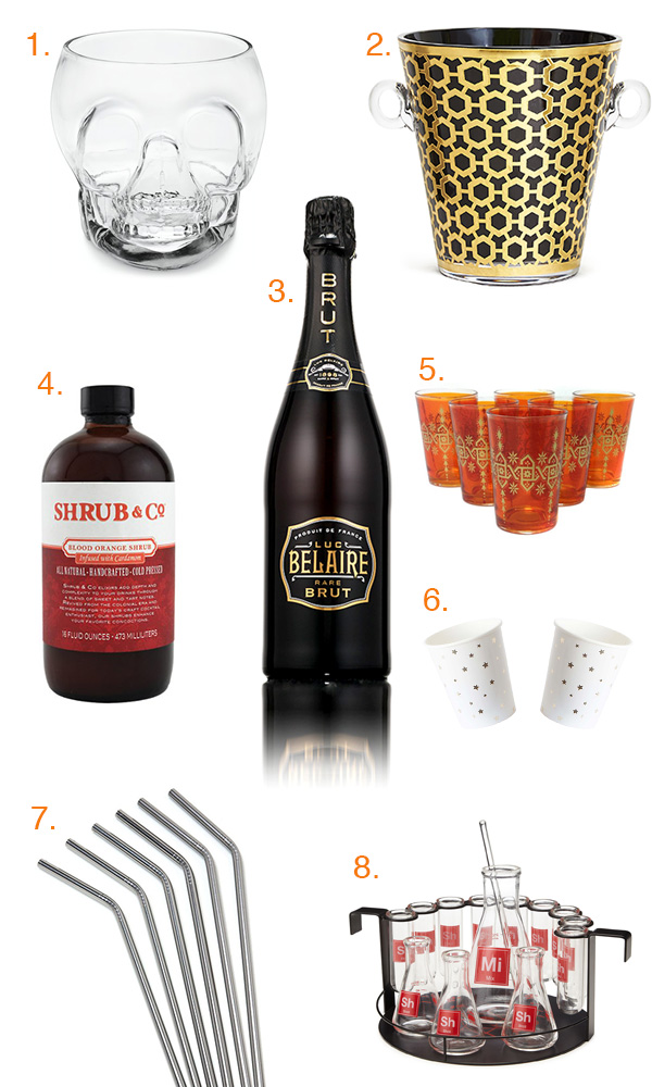 Halloween 2015 Cocktail Gift Guide // stirandstrain.com