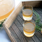 Smoked-Rosemary Rum Punch