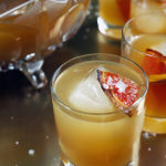 Brûléed Grapefruit and Mixed Citrus Punch with Vanilla and Piloncillo Reduction