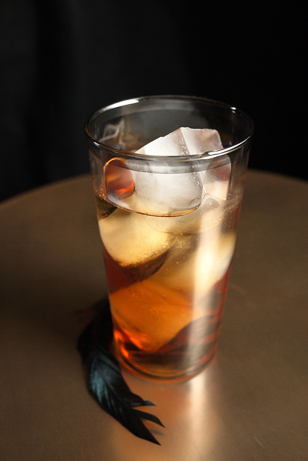 October Seventh Cocktail: Stir and Strain shoots Dinner Party Download // stirandstrain.com