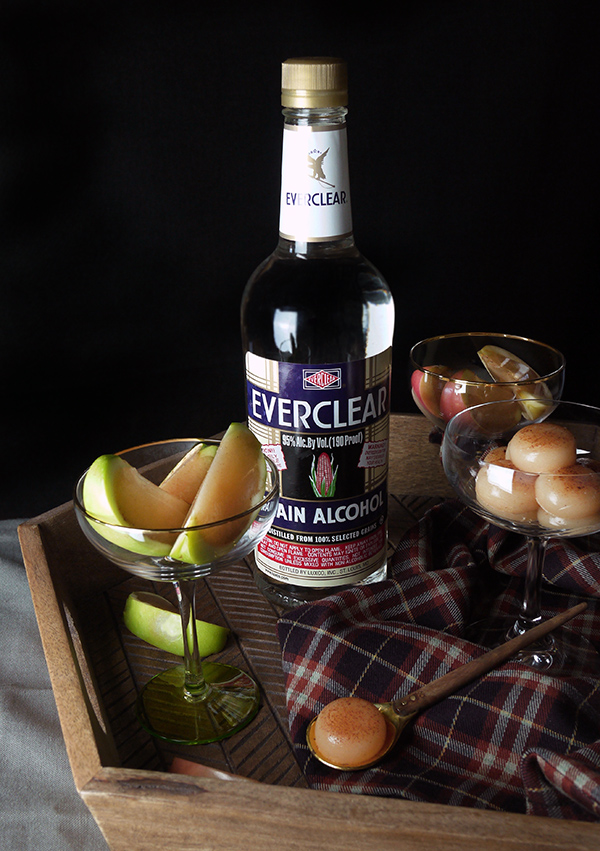 Caramel Apple Jellies with Everclear // stirandstrain.com
