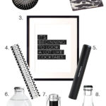 Holiday Gift Guide: Black and White and Booze All Over