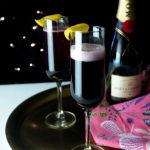 Maple Blueberry Sparkling Cocktails