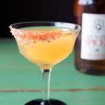 Spiced Gunpowder Guava Cocktail
