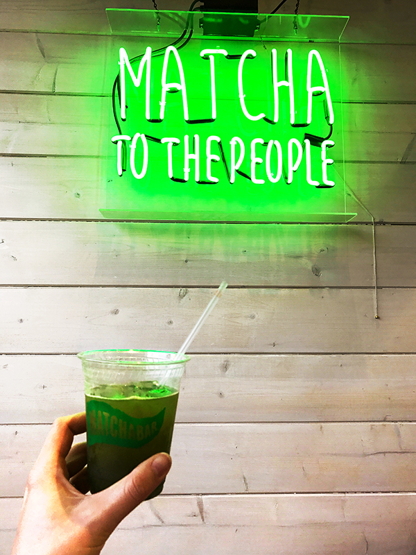 Monday Booze News: matcha hands up in here // stirandstrain.com
