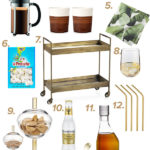 Bar Cart Styling: From Coffee to Cocktails