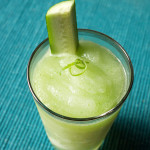 Frozen Cucumber and Green Chartreuse Daiquiri