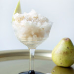 Make It: Honeyed Pear and St. Germain Granita