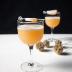 Fresh Ginger Amaretto Sour Cocktails